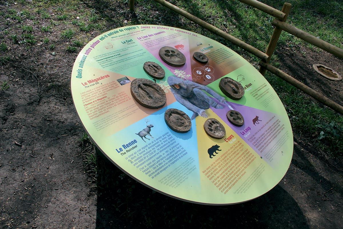 Empreintes PREHISTO PARC - La Préhistoire comme si vous y étiéz de Neandertal à Cro-Magnon